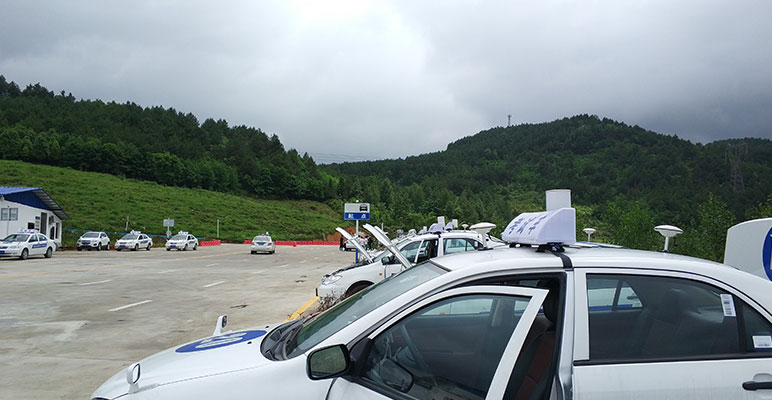 High-precision receivers are widely used in driving test scenes in Southwest China